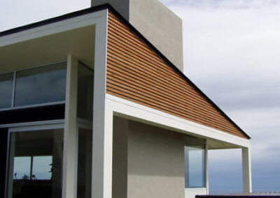 BOOM ROCK HOME architectural wall feature