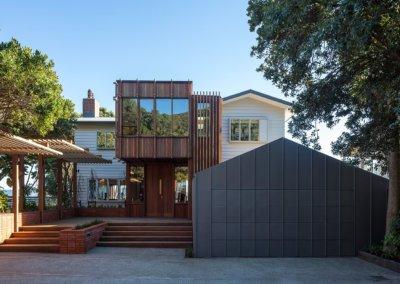 eastbourne home front entrace complete build
