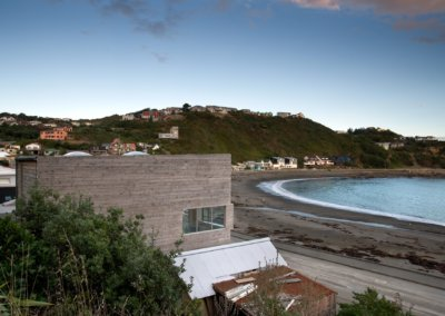 Owhiro Bay Home view of property from neighboring house